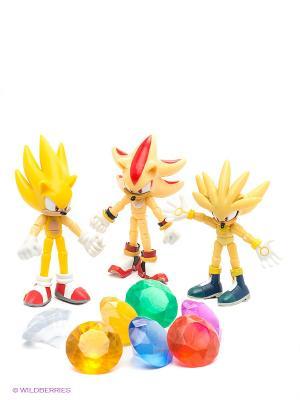 Набор фигурок - Super Pack. Соник Sonic. Цвет: желтый