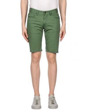 Бермуды MATIX. Цвет: зеленый-милитари