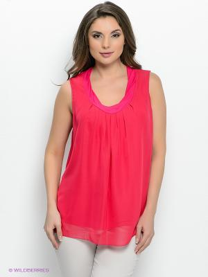 Блузка Femme. Цвет: малиновый