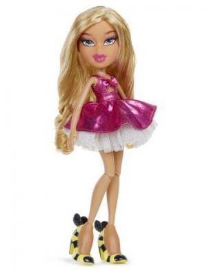 Bratz Вечеринка, кукла делюкс Рая. Цвет: розовый