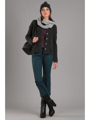 Куртка ЭНСО. Цвет: темно-серый