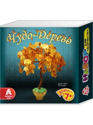 Чудо-дерево из пайеток Клен Азбука Тойс. Цвет: бирюзовый