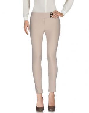 Повседневные брюки EUREKA. Цвет: бежевый
