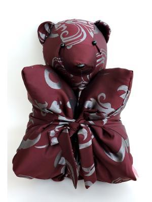 Декоративная подушка Mammi. Цвет: бордовый