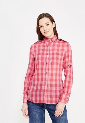 Рубашка DuckyStyle. Цвет: розовый