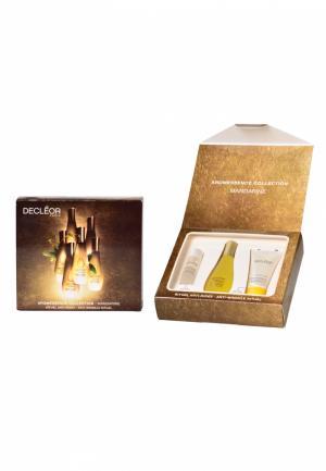 Набор Мандарин арома-трио Decleor. Цвет: золотой