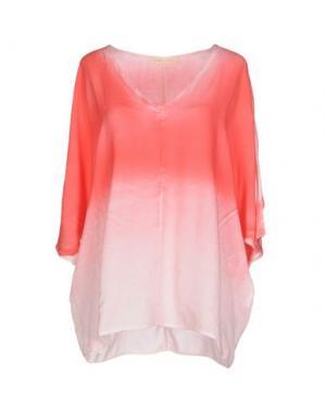 Блузка MONICA •LENDINEZ. Цвет: коралловый