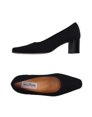 Туфли VALLEVERDE. Цвет: черный