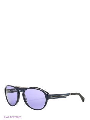 Солнцезащитные очки BLD 1634 401 GB SIGNATURE Baldinini. Цвет: синий, черный