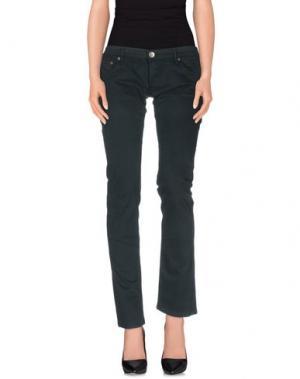 Повседневные брюки NOLITA DE NIMES. Цвет: темно-зеленый