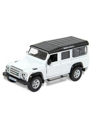 Машина металлическая Land Rover Range Defender 110, 1:32. HOFFMANN. Цвет: белый