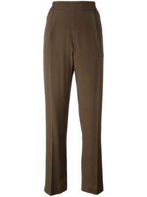 Свободные брюки Nº21. Цвет: зелёный