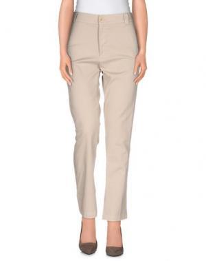 Повседневные брюки LOCAL APPAREL. Цвет: бежевый