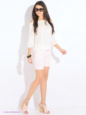 Шорты Vero moda. Цвет: бледно-розовый