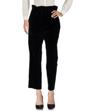 Повседневные брюки ISA ARFEN. Цвет: черный