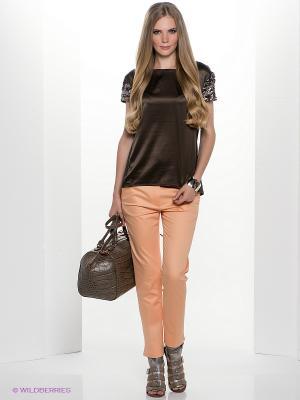 Блузка Henry Cotton's. Цвет: коричневый
