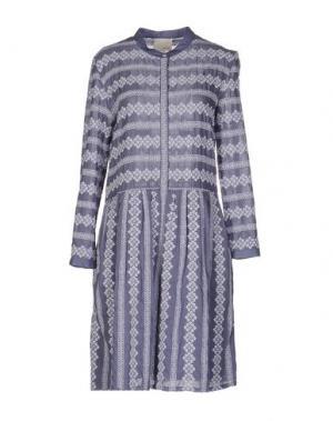 Короткое платье BAND OF OUTSIDERS. Цвет: пастельно-синий