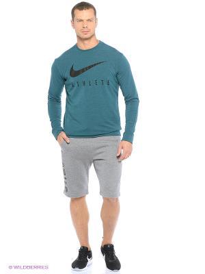 Шорты M NSW SHORT FLC AIR HYB Nike. Цвет: черный, темно-серый