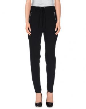 Повседневные брюки YERSE. Цвет: черный