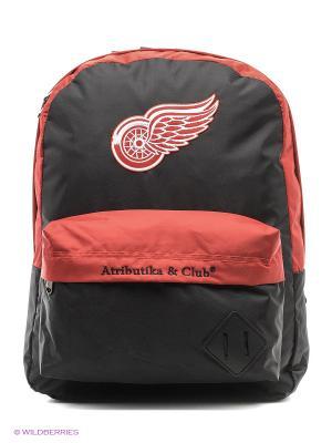 Рюкзак Red Wings Atributika & Club. Цвет: красный, черный