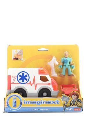 Игровой набор Городские спасатели Mattel. Цвет: красный