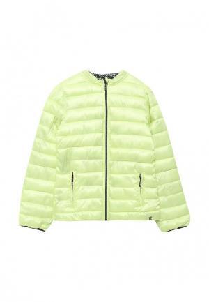 Куртка утепленная 3 Pommes. Цвет: разноцветный