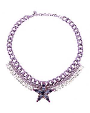 Ожерелье LISA C BIJOUX. Цвет: фиолетовый