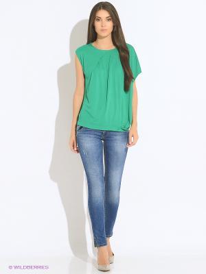 Блуза DOCTOR E. Цвет: зеленый