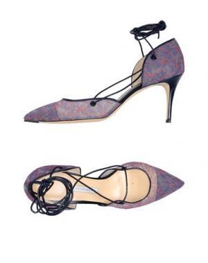 Туфли BIONDA CASTANA. Цвет: темно-синий