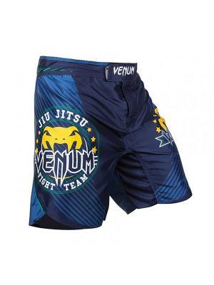 Шорты ММА Venum Carioca FightShorts Blue. Цвет: синий