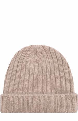 Кашемировая шапка Allude. Цвет: бежевый
