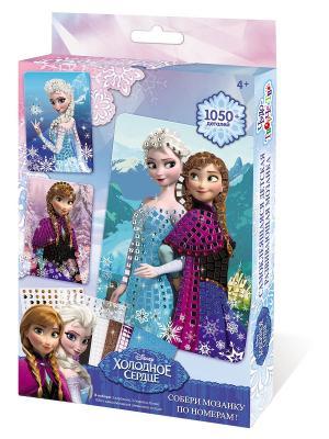 Чудо -Творчество. Disney Мозаика самокл. Набор Frozen Чудо-творчество. Цвет: голубой, розовый, фиолетовый