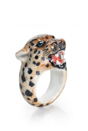 Кольцо 163505 Nach Jewellery. Цвет: разноцветный