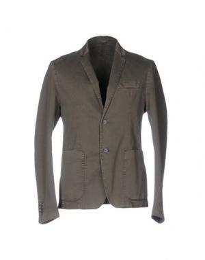 Пиджак JULIAN KEEN. Цвет: зеленый-милитари