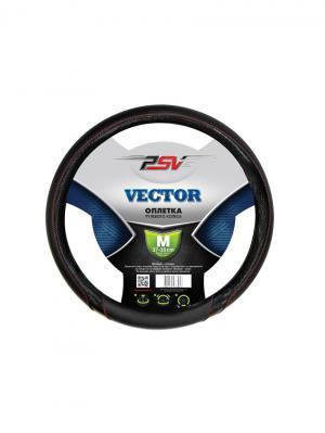 Оплётка на руль PSV VECTOR (Черный) M. Цвет: черный