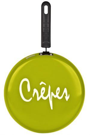 Блинная сковорода 26 см Granchio. Цвет: зеленый