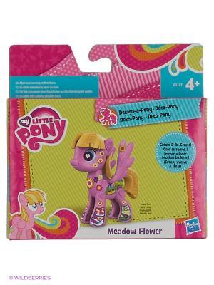 Базовая пони Создай свою Hasbro. Цвет: розовый