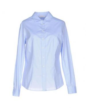 Pубашка ZANETTI 1965. Цвет: небесно-голубой