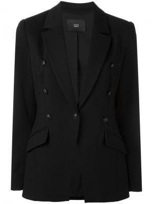 Пиджак с застежкой на пуговицу Steffen Schraut. Цвет: чёрный