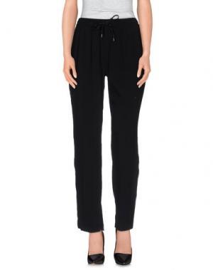 Повседневные брюки G.SEL. Цвет: черный