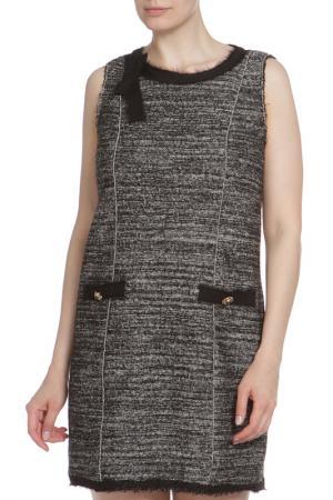 Облегающее платье А-образного кроя Liu Jo. Цвет: черный