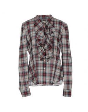 Pубашка POLO JEANS COMPANY. Цвет: светло-серый