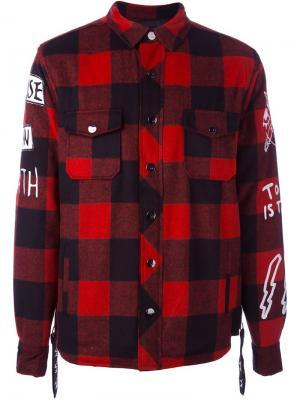 Куртка Fred Haculla. Цвет: красный
