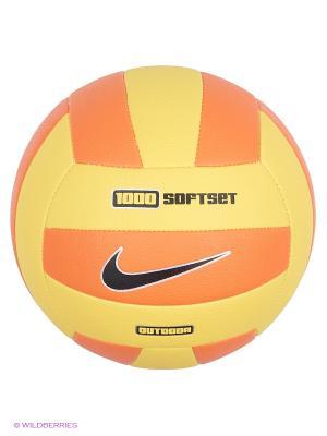 Мяч волейбольный Nike. Цвет: желтый, оранжевый