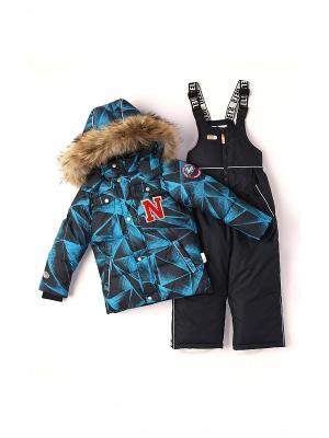Комплект одежды NELS. Цвет: синий