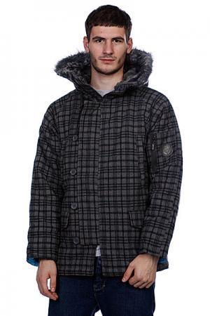 Куртка  Winter Grey Enjoi. Цвет: серый