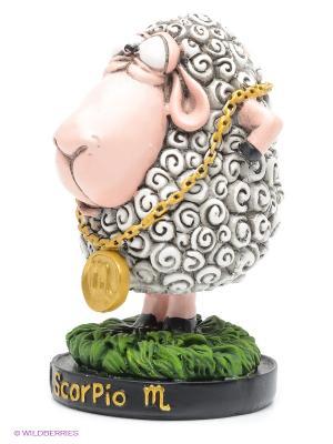 Фигурка Овца Знак Зодиака The Comical World of Stratford. Цвет: белый, зеленый, розовый