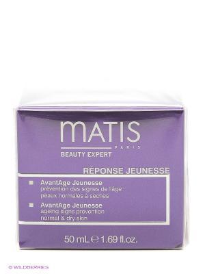 Блеск Молодости крем предотвращающий появление первых признаков старения для нормальной и сухой кожи Matis. Цвет: прозрачный
