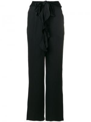 Прямые брюки Each X Other. Цвет: чёрный