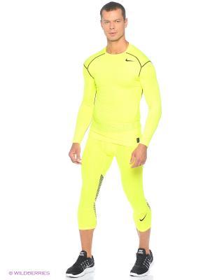 Тайтсы HYPERCOOL 3/4 TIGHT Nike. Цвет: желтый